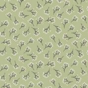 Into The Woods by Makower UK - 5835 -  Branches on Green - 1853_G4 - Cotton Fabric